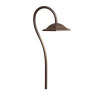 LED Shepherd's Crook Path Light - Textured Architectural Bronze